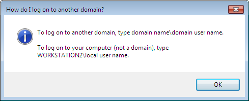how to change domain name windows 7