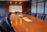 Big business board room