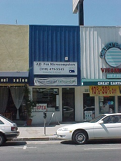 J.D. Fox Microcomputers Pico Store front